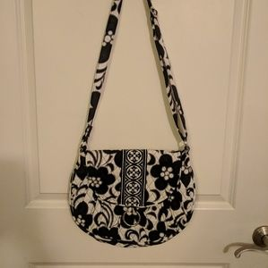 Vera Bradley night and day cross body saddle up